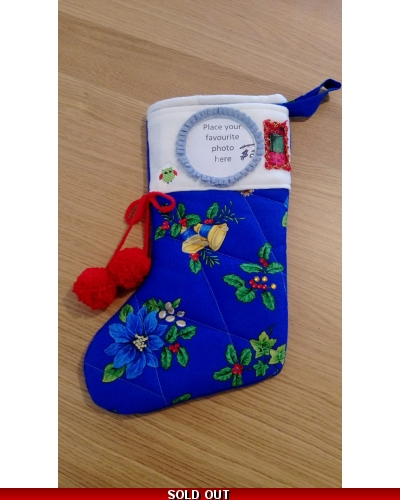 Handmade Photo Xmas Stocking