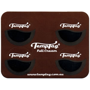 TempTag Pack - Full Cream only Brown Sticker