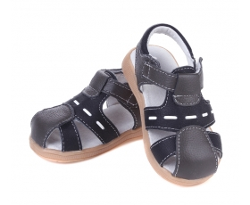 Tarmaced -  black - Toddler Sandals