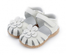 Rosie - white - toddler shoes - kids shoes