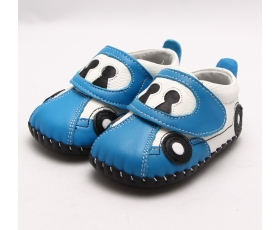Beep Beep - Blue - baby shoes