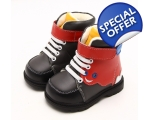 Monster - red - toddler shoes - kids shoes