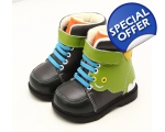 Monster - green - toddler shoes - kids shoes