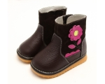 Gerberra - chocolate - toddler boots