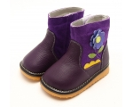 Gerberra - purple - toddler boots