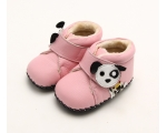 Woof - pink - baby boots