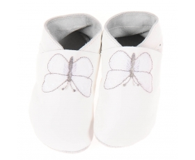 Butterfly - White - baby shoes