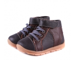 Anklebiters - Brown/black - toddler boots