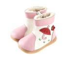 Tadpole - pink -  toddler Boots