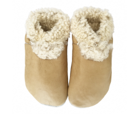 Slinkskin - Wool - Natural - toddler shoes