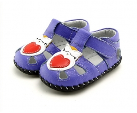 Hoot - Purple - baby shoes