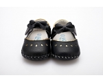 Princess - black - baby shoes