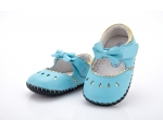 Princess - blue - baby shoes