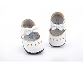 Princess - white - baby shoes