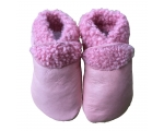 Slinkskin - Wool - Pink - baby shoes