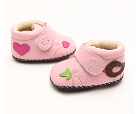 Back 2 Nature - Pink - baby shoes