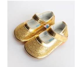 Sparkle - gold - toddler shoes