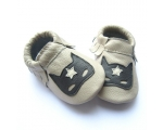 Masked Defender - Moccasin - baby shoes