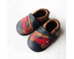 Fire Truck - softies - baby shoes