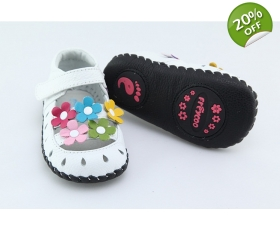 Daisy - White - baby shoes