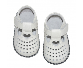 Celebration - white - baby shoes