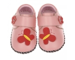 Butterfly - Pink - baby shoes