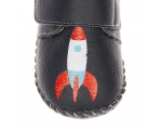 Spaceman - navy - baby shoes