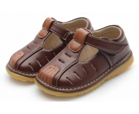 Slater - Brown - toddler shoes