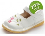 Florence - White - toddler shoes