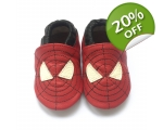 Spidey - softies - baby shoes