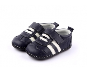 Racer - Navy - baby shoes