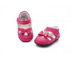 Emma - hot pink - baby shoes