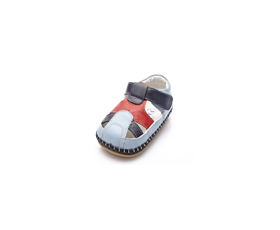 Nautical - Blue - baby shoes