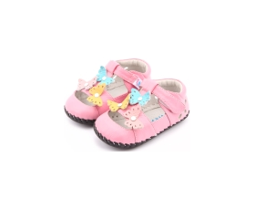 Spring - pink - baby shoes