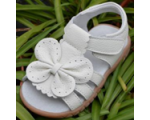 Flutter - white - girls sandal
