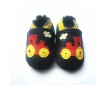 Trains - softies - baby shoes