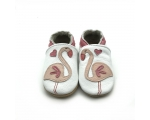 Flamingo - softies - baby shoes