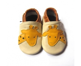 Jiraffe - softies - baby shoes