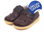 Smile - brown - toddler shoes