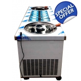Double Fry Ice Cream Machine Inox