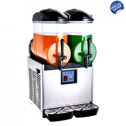Frozen Drink Slush Machine Margarita 12L x 2