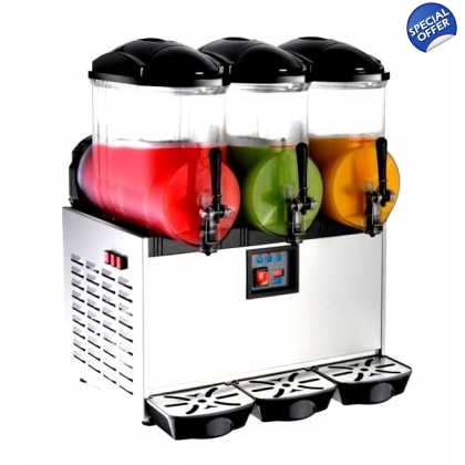Frozen Drink Slush Machine Margarita 12L x 3