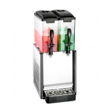 Slim Drink Dispenser Spraying 2x12L