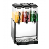 Slim Drink Dispenser Mixing 3x12L