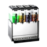 Slim Drink Dispenser Mixing 4x12L