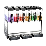 Slim Drink Dispenser Mixing 6x12L