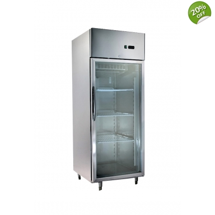 Kitchen Refrigerators Inox 1 Glass Door