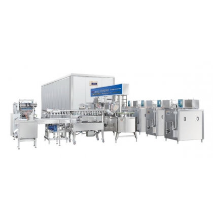 Industrial Ice Cream Producing Line Full Equipment