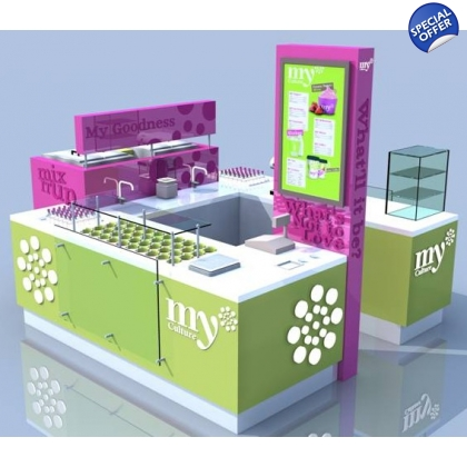 A2 Modular Yogurt Shop