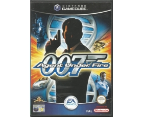 james bond 007 Agent Under Fire - Used - Nintendo Gamecube